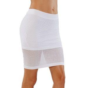 Dresses & Skirts - Sexy mesh midi pencil skirt